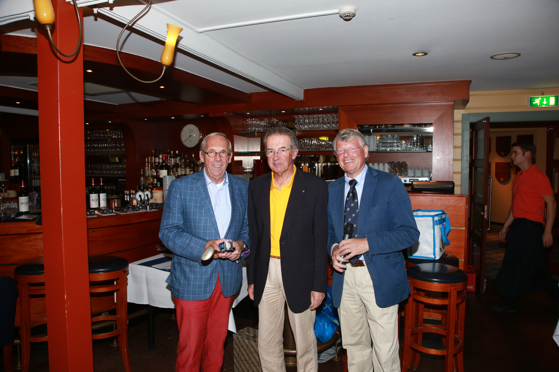 Neary winnaar Frans Hamann NK Rotary Golf 2014.