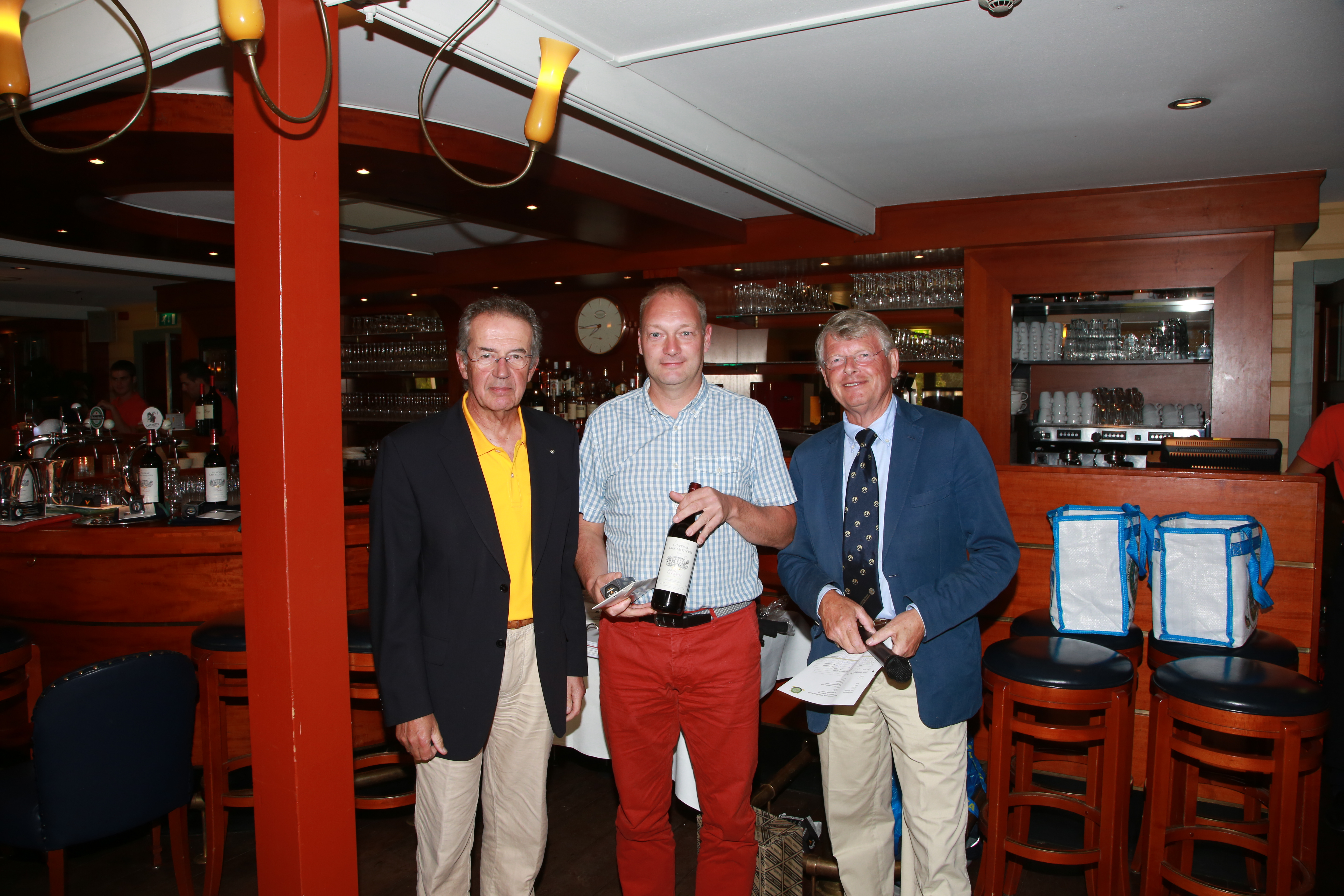 Enrico Hans 3e plaats individueel stableford NK Rotary Golf 2014.